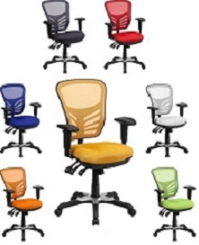 Incroyable Colorful Mesh Office Chair