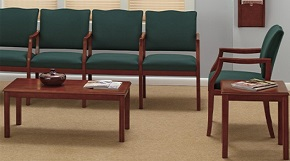 medical office reception furniture provides extra comfort to patients